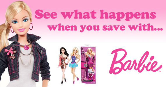 Get Over $60 Worth of Barbie Coupons