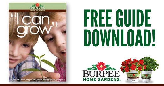 """Free """"I Can Grow"""" Guide from Burpee"""